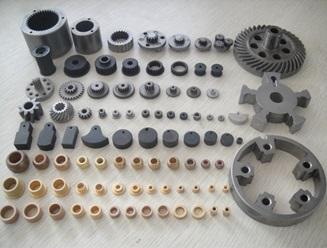 قطعات مختلف گیربکس اتومبیل، تولید شده به روش متالورژی پودر