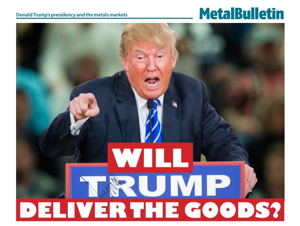 مقاله ای از متال بولتن در مورد اثر ترامپ بر صنعت فولاد