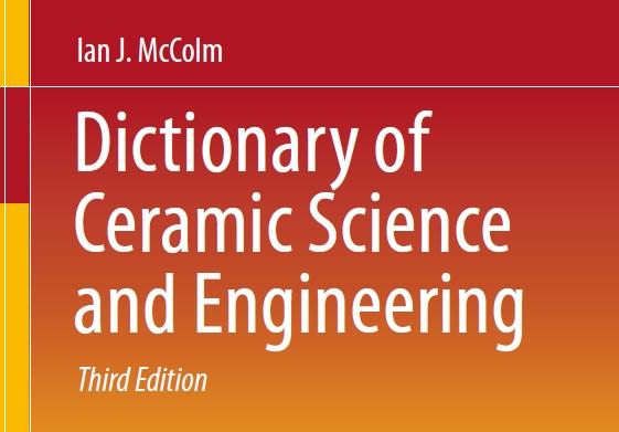دیکشنری علوم و مهندسی سرامیک