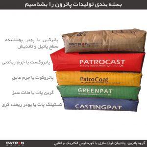 بسته بندی محصولات پاترون را بشناسیم
