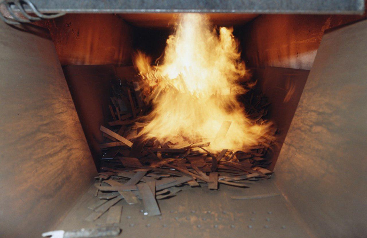 تاثیر پیش گرم ضایعات بر بهره وری تولید در کوره های القایی