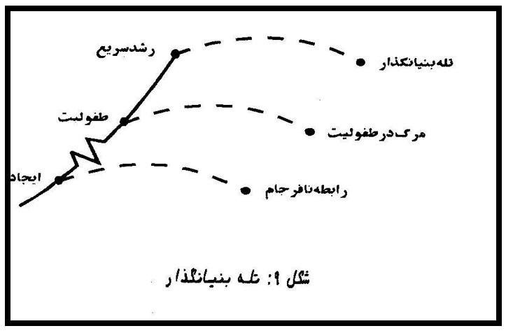 شکل ۴ دوره رشد سریع و عارضه آن
