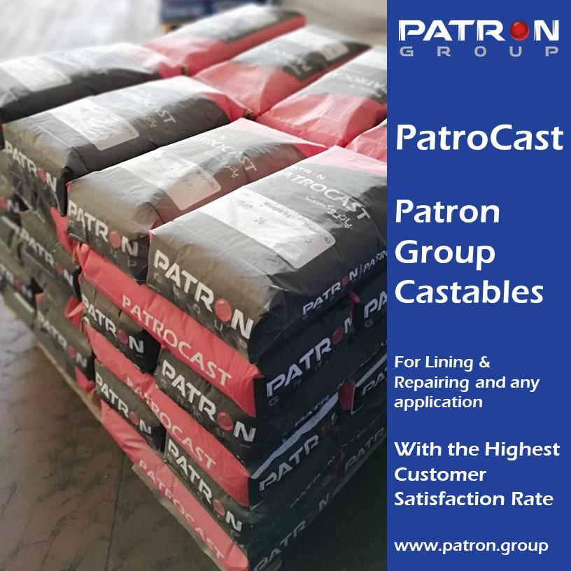 جرم نسوز ریختنی گروه پاترون – پاتروکست